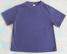 GEORGE - BOYS 5-6 YEARS - NAVY BLUE COTTON SHORT SLEEVE T-SHIRT