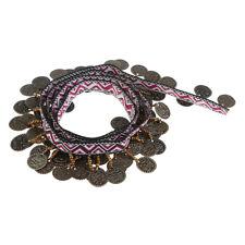 1yd Copper Tassel Lace Trim BOHO Ribbon Fringe Drop Sewing Clothes Curtains