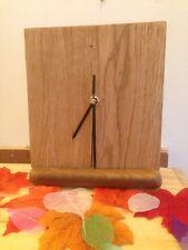 Solid Oak Original Mantle Clock
