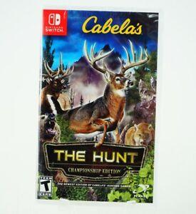 Cabela's The Hunt Championship Edition: Nintendo Switch [Brand New]