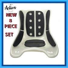 GO KART SEAT PADDING 8 PIECE FULL SUPPORT SPINAL RELIEF SYSTEM
