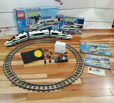 Lego World City High Speed 9V Train Sets 4511 and 10157  w/Boxes and Manuals