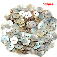 100x15mm Pearl Buttons Mother of Pearl Shell Flower Button A5P1