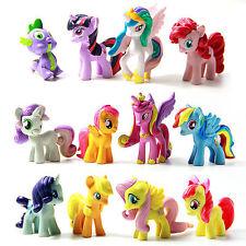 12X Gift Bunte My Little Pony Puppe Princess Sammeln Action Figuren Spielzeug