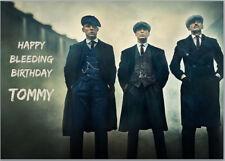 Peaky Blinders Cillian Murphy Birthday Card A5 Personalised Any Wording