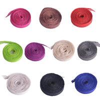 1.4 Yard Sinamay Ribbon Bias Binding for Fascinator Hat Craft Supply  B082