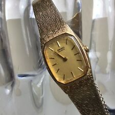 Vintage Women's Seiko Gold Tone Watch Model # 3N0198 - Works Great