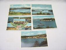 Job Lot Of 5 Oban Scotland Postcards