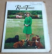 RADIO TIMES MAGAZINE  10 -16 JULY 1976  THE QUEENS GARDEN  &  ORDE WINGATE