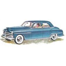 27-pc WeatherStrip Set for 1949-1950 Plymouth 4-Door Sedans