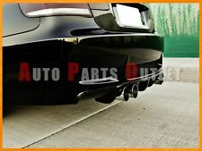 2008-2012 BMW E92 E93 M3 2Dr V-Type Carbon Fiber Add-On Rear Bumper Diffuser