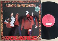 Lime Spiders ‎– Volatile -LP VINYL MADE IN U.S.A 1988  Alternative  Indie Rock.