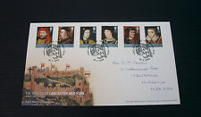 28th Feb 08 The House of Lancaster and York First Day Cover SHS (PB1)