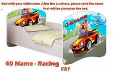 Children Kids Bed Mattress Delivery Toddler 03. Racing Car Yes 140x70
