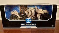McFarlane Toys DC Multiverse Dark Knights Batman Death Metal Batcycle IN HAND