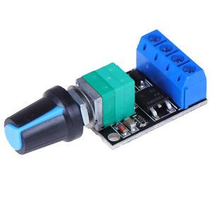 5V-16V 10A PWM DC Motor Speed Controller Regulator LED Dimmer Speed Control xeZT