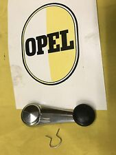 NEW Chrome Window Crank FITS ALL OPEL REKORD C and Commodore A Models