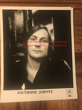 Southside Johnny Singer Songwriter Original Promotional Photograph Epic Records