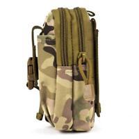 Travel RFID Blocking Belt Pouch Tactical Belt Pouch Waist Bag Diving Bag #N1
