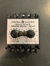 TGSR06 GE Ground Fault Relay 120V