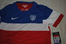 BOYS NIKE SOCCER JERSEY USA WORLD CUP SIZE LARGE DRI FIT