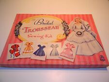 Vintage 1955 Hasbro Bridal Trousseau Sewing Kit 1539 Adorable Bridal Shower Gift