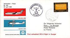 B0170+ 1er  LIAISON AERIENNE     AMSTERDAM  PARIS  KLM