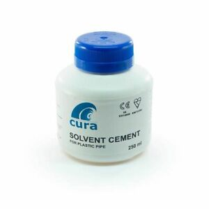 Solvent Cement with Brush Cura for PVCu, MuPVC and ABS
