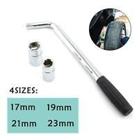 17 19 21 23MM Extendable Wheel Brace Wrench Telescopic Car Van Socket Tyre Nut