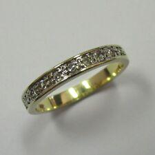 Aparter Beisteckring aus Gelbgold 585 mit zehn Achtkant Diamanten - 541 - G24