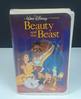 Walt Disney Classic Beauty and the Beast 1992 VHS #1325 Black Diamond Edition