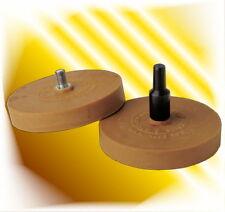 2 x Folienradierer  Radierscheibe Radierer  mit Adapter Set