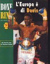 L'europa di Davis Boxe Ring Anno 57-Maggio 2001