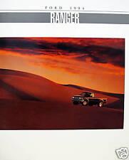 1994 Ford Ranger pickup truck new vehicle brochure