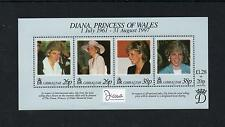 Gibraltar 1999 Diana Commem Sheet. MINT/MNH One postage for multiple buys. Rx