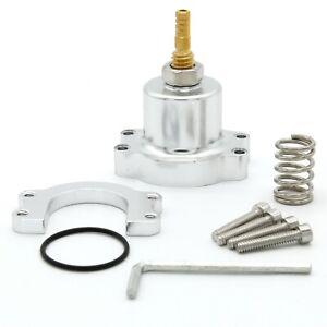 Aluminum Racing Adjustable Fuel Regulator Riser Gauge Kit Adjustable Fuel Pressure Regulator for Honda Civic Acura Integra Honda Prelude