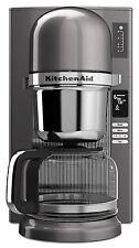 KitchenAid R-KCM0802MS залейте кофеварка медальон серебро цифровой восстановленный