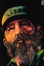 "16x20""Decoration CANVAS.Room design art.Political Fidel Castro Cuba.6505"