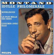 "YVES MONTAND ""IDYLLE PHILOMENALE"" 60'S EP PHILIPS 437374"