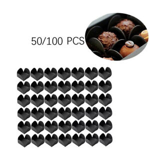 Chocolate Cups Tray Craft Paper Dessert Chocolate Base Package Liners Baking DIY