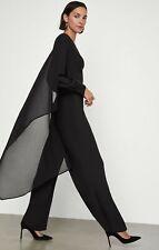 NWOT $298 BCBGmaxazria Ruffle Sash Jumpsuit XS