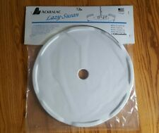 "18"" White Outdoor Ackralac Rotating Turntable Lazy Susan for Umbrella Table NEW"