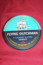 Old Flying Dutchman Pipe Smoking Tobacco Tin Box Dutch Holland Vintage Collector