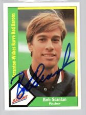 BOB SCANLAN SCRANTON/ WILKES-BARRE RED BARONS AUTOGRAPHED BASEBALL CARD