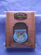 PINOCCHIO & JIMINY 70TH ANNIVERSARY DVD GWP 2009 LE DISNEY PIN NEW NIP SS