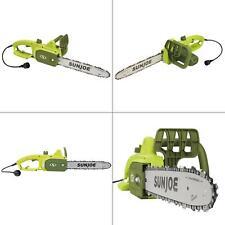 14 in. 9-amp electric chain saw | joe sun chainsaw tree limb master with new bar