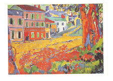 carte postale  beaux arts :Vlaminck : restaurant de la machine a Bougival