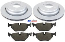 FOR BMW 5 SERIES E39 (1996-2003) 528 530 535 REAR BRAKE DISCS & PADS SET NEW