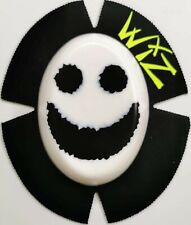 WIZ KNEE SLIDERS SMILEY FACE BLACK ON WHITE