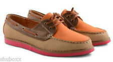 NEW WOMENS DOLCIS LACE UP FLAT BOAT MOCCASINS DECK SHOES LADIES LOAFERS SHOES